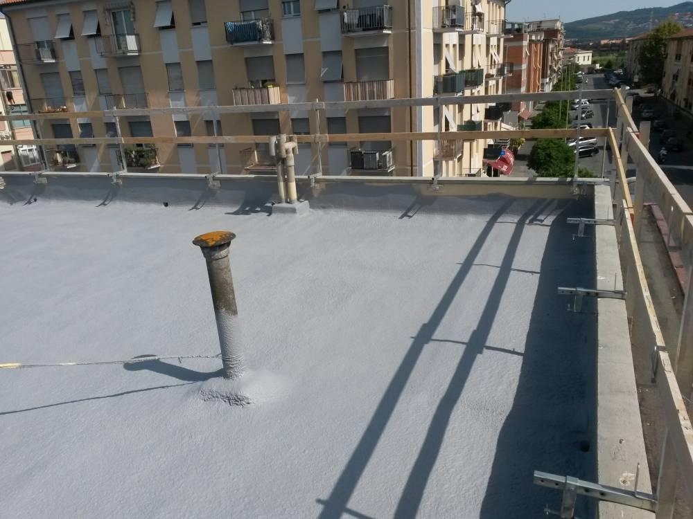 Isolamento termico e impermeabilizzazione di terrazza a Santa Croce ...